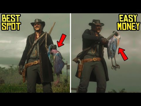 Red Dead Online - Best Spot To Hunt & Make BIG Money! ($50 Every 5-10 Minutes)