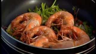 Thai Food Salt And Pepper King Prawns