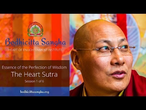 The Heart Sutra [1]