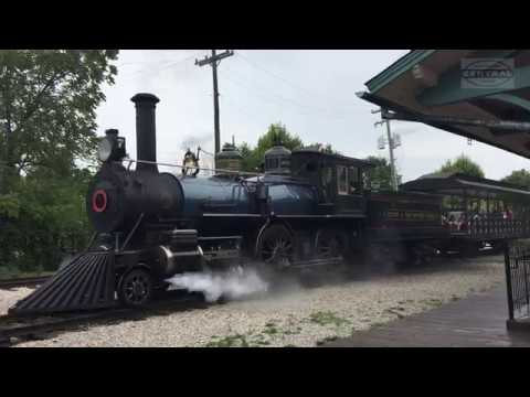 American Type 4-4-0 Steam Engine!