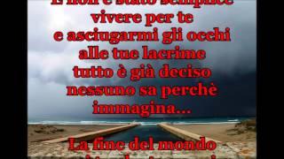 """GIANNA NANNINI """"LA FINE DEL MONDO"""" + TESTO"""