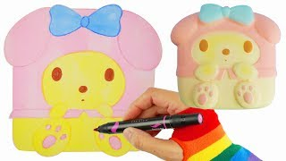 How to Draw Sanrio My Melody Coloring Book Pages for Kids