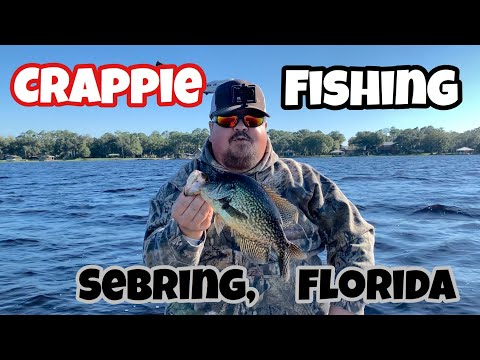 Crappie Fishing Sebring, Florida