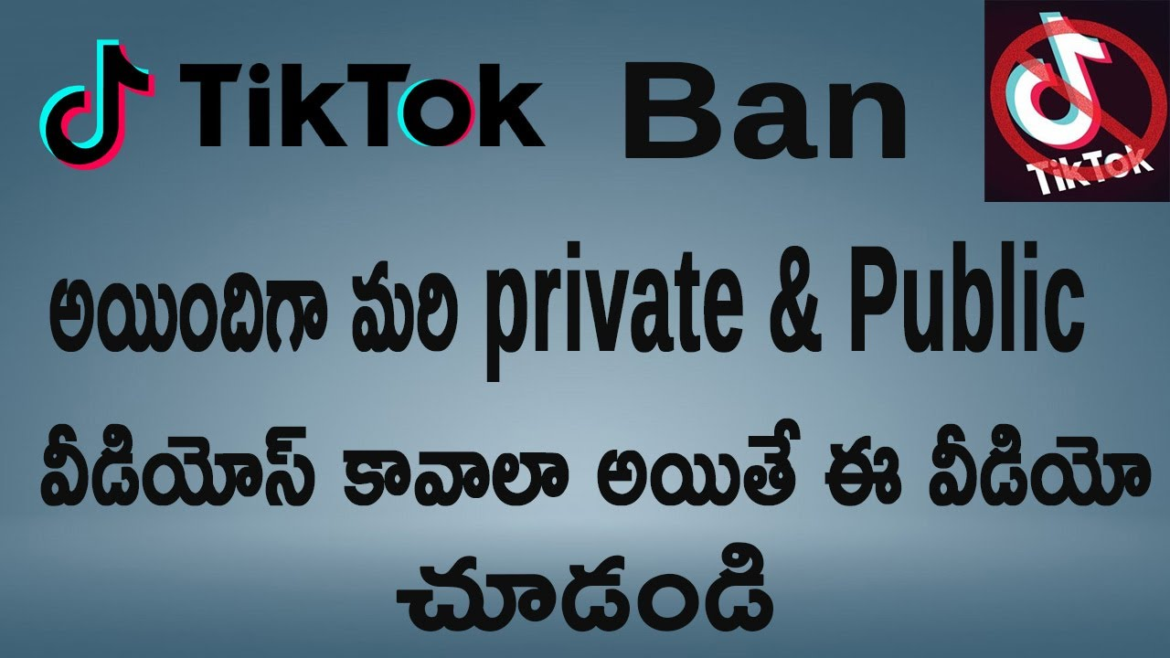 TikTok Private and Public Videos Download 100% Working ...