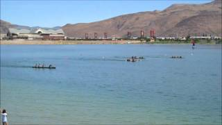 Coed Sprint Race Finals - 25th Annual ASCE National Concrete Canoe Competition