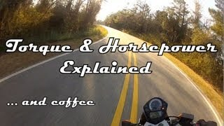 Torque & Horsepower Explained... and coffee