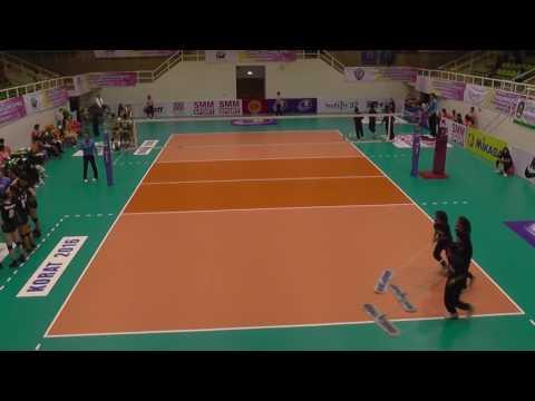 New Zealand vs Australia Asian Junior Volleyball Championships 2016 Set Three