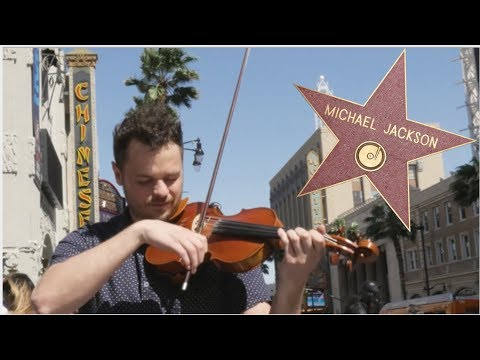Playing with the Stars on Hollywood Walk of Fame
