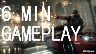 WATCH DOGS 6MIN GAMEPLAY [HD 720p] PS3 GAMEPLAY