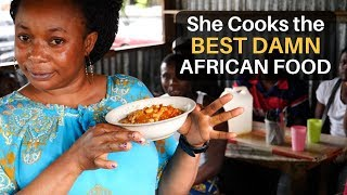 She Cooks The BEST DAMN African Food!