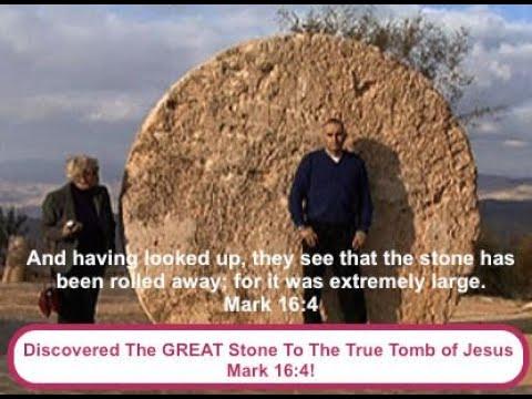 The Garden Tomb of Jesus film & GREAT stone Discoverd.