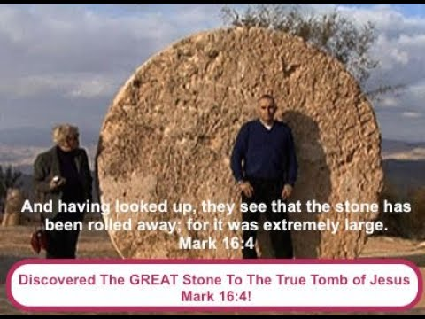 The TRUE Tomb of Jesus & The GREAT stone Discovered.