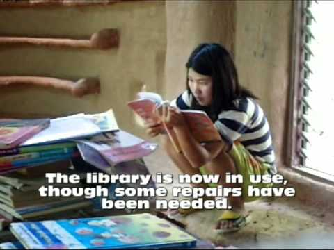 Mud Brick Library at Khon Kaen, Thailand - 1 Year Later