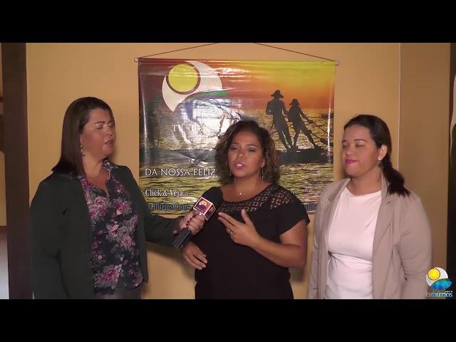 Entrevista com Flávia Oliveira e a Dr. Gracyanne Pereira falando do Workshow