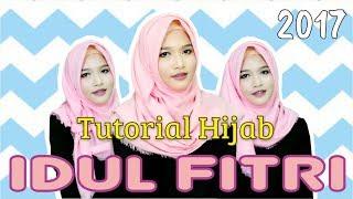 3 Tutorial Hijab Segiempat Rawis Simpel Untuk Merayakan Hari Raya Idul Fitri 2017