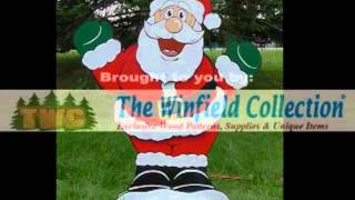 Dancing Santa - By The Winfield Collection