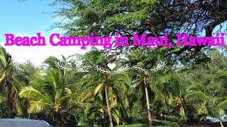 Maui - Hawaii - beach - CAMPING