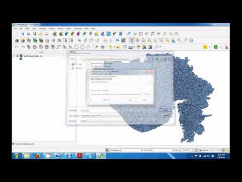 Open-Source GIS Tutorial (Application: Economic Effects of Pollution Diffusion)