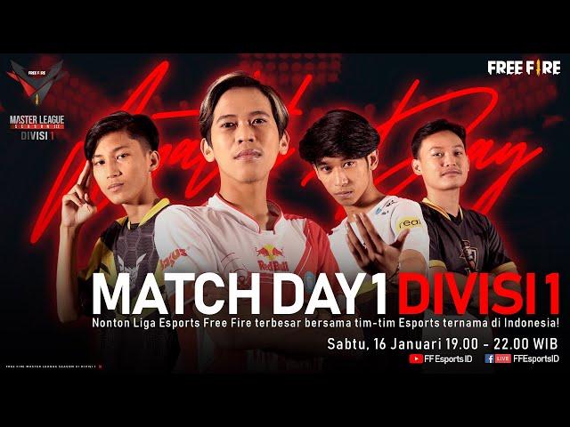 [2021] Free Fire Master League Season III Divisi 1 - Match Day 1