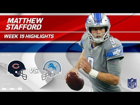 Matthew Stafford Leads Lions t detroit lions