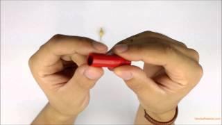 (Unboxing) Conector Amphenol RCA macho de linha - ACPRRED