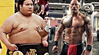 "Dwayne ""The Rock"" Johnson - Incredible Natural Body Transformation"