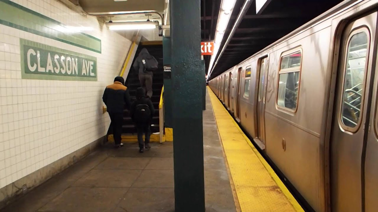 MTA New York City Subway Jamaica 179th Street Bound R160 F