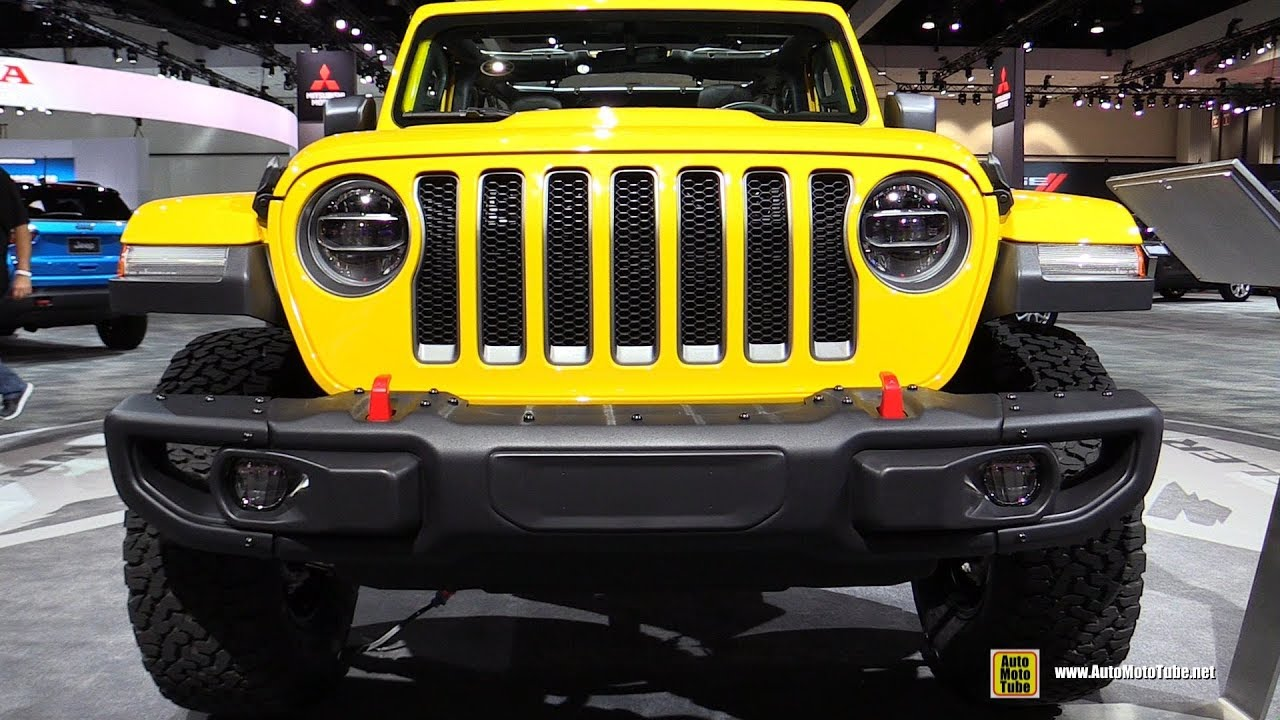 2018 Jeep Wrangler Unlimited Rubicon - Exterior and ...