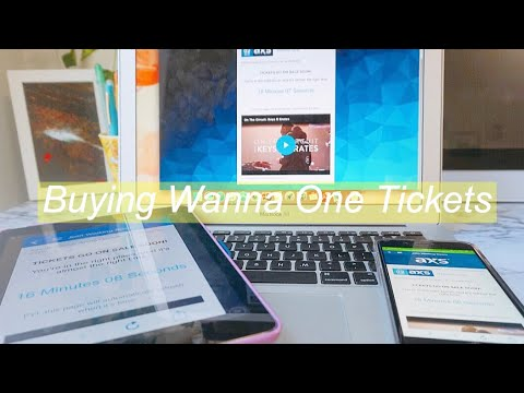 Buying Tickets For Wanna One's ~ 'One : The World' Tour | Experience + AXS Review ♡