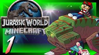 Jurassic World [Day 1] Crash Landing! (Custom Modpack!)