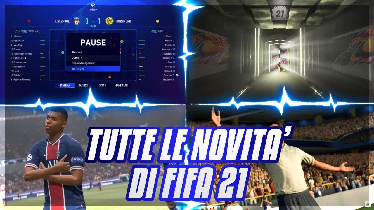 FIFA 21- GAMEPLAY, ICONS E NOVITA'! I MIEI PARERI