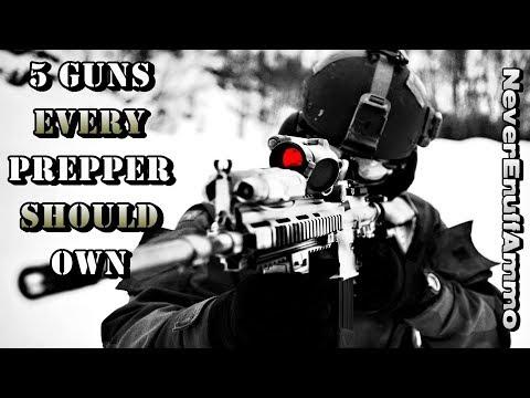 5 Guns EVERY Prepper Should Own