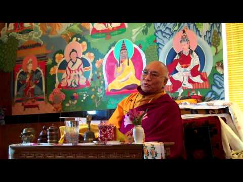 Encouraging Everyone to Complete Ngondro as Essential Foundation for Dzogchen Practice