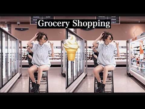 FOOD SHOPPING WITH ME IN BARCELONA