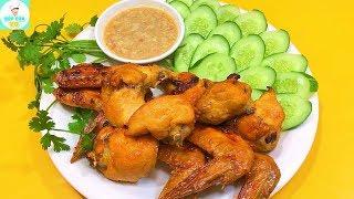 CÁNH GÀ NƯỚNG CHAO | Cách nướng cánh gà với chao thơm ngon hấp dẫn | Bếp Của Vợ