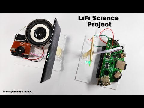how-to-transmit-music-with-light-|-lifi-project