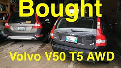 Volvo V50 T5 AWD with 18,000km or 12,000 miles. Bought it!!!!