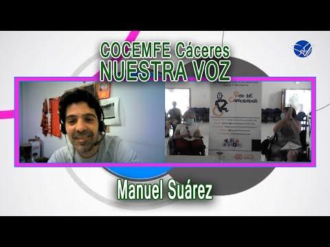 COCEMFE Nuestra Voz - Manuel Suárez