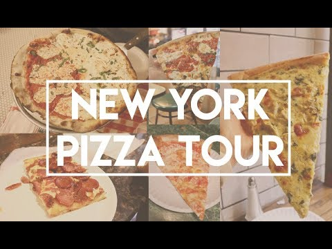 Pizza Tour 2017 - New York (where to get the best pizza in Manhattan)
