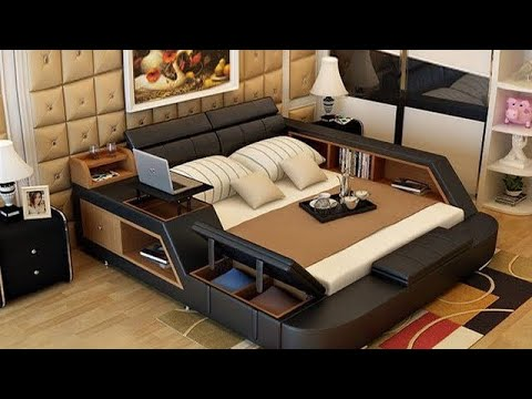 ALL IN ONE DOUBLE BED WITH STORAGE FOR SMALL SPACE Pt1