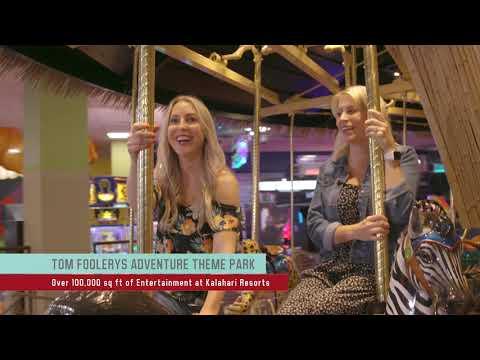 SEE Chicago Visits Kalahari Resorts Tom Foolery Theme Park