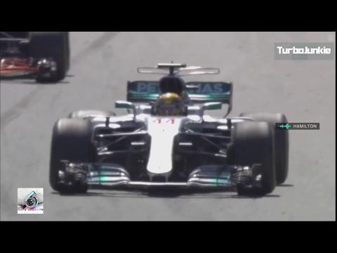 F1 2017 Spanish GP Lewis Hamilton Winning Team Radio