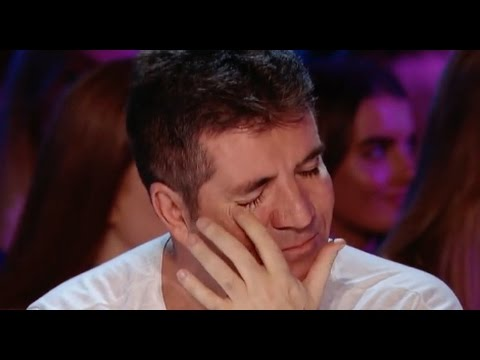 His Voice Is So Emotional That Even Simon Started To Cry! music