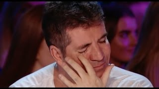 Download lagu His Voice Is So Emotional That Even Simon Started To Cry!