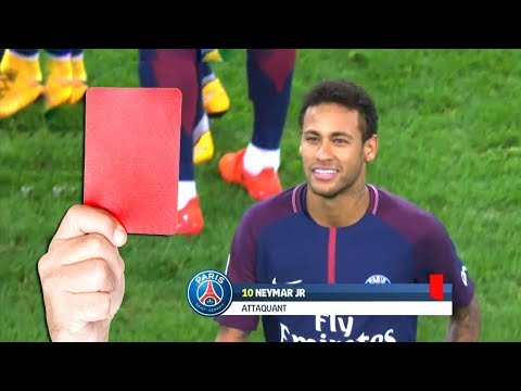 Top 20 Famous Red Cards In Football - YouTube