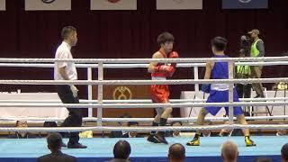 2019 全日本 52kg級 滝澤栄吉 対 及川天斗 BOXING