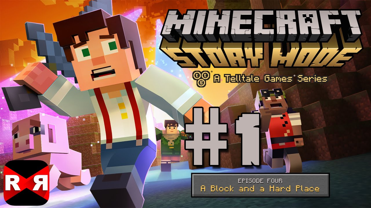 Download Minecraft: Story Mode Ep. 4: A Block and a Hard Place - iOS / Android - Walkthrough Gameplay Part 1