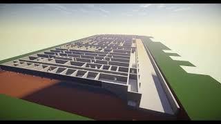 Строительство ЧАЭС в майнкрафте