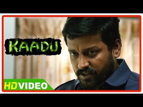 Kaadu Tamil Movie Scenes | Vidharth threatens the smuggler & Muthukumar | Samskruthy