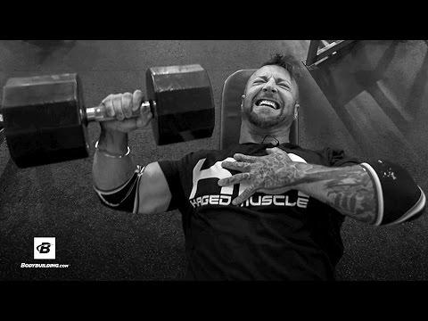 Chest & Shoulders Workout | Day 23 | Kris Gethin's 8-Week Hardcore Training Program